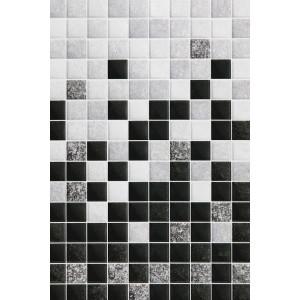 Плитка облицовочная Алжир черная низ 03