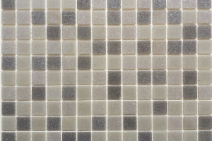 Мозаика стеклянная эконом (на сетке) 20x20 (305х305х4) KG101