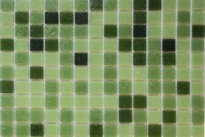 Мозаика стеклянная эконом (на сетке) 20x20 (305х305х4) KG308