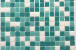 Мозаика стеклянная эконом (на сетке) 20x20 (305х305х4) KG309