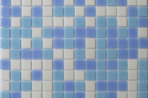 Мозаика стеклянная эконом (на сетке) 20x20 (327х327х4) MC127