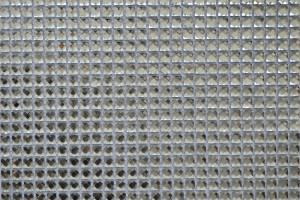Мозаика стеклянная из страз (на сетке) 15*15 (300*300*4) F15X1