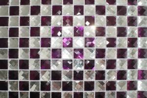 Мозаика стеклянная из страз (на сетке) 20*20 (304*304*4) F2x4