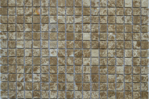 Мозайка из камня (на сетке) 15x15  (305х305х4) KG-33P