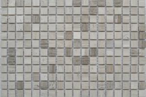 Мозайка из камня (на сетке) 15x15  (305х305х4) KG-36P