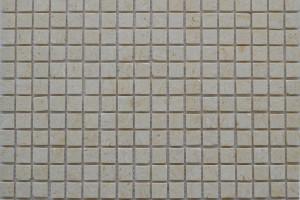 Мозайка из камня (на сетке) 15x15  (305х305х4) KG-18P