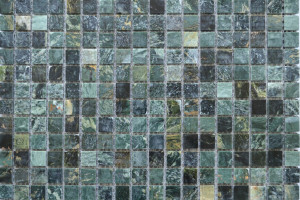 Мозайка из камня (на сетке) 15x15  (305х305х4) KG-25P