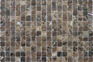 Мозайка из камня (на сетке) 15x15  (305х305х4) KG-01P