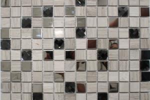 Мозайка из камня (на сетке) 20x20 (300*300*6) P20