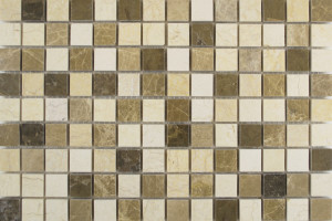 Мозайка из камня (на сетке) 20x20 (300*300*6) KG30