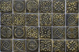 Мозаика керамическая (на сетке) 48*48 (300*300*6) KG4804
