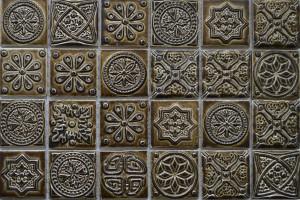 Мозаика керамическая (на сетке) 48*48 (300*300*6) KG4803