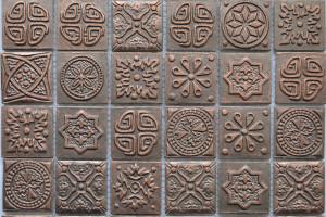 Мозаика керамическая (на сетке) 48*48 (300*300*6) KG4802