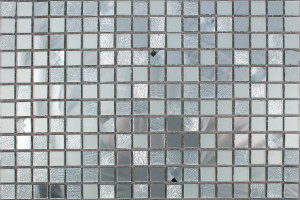 Мозаика стеклянная зеркальная (на сетке) 15x15 (300х300х4) А1501