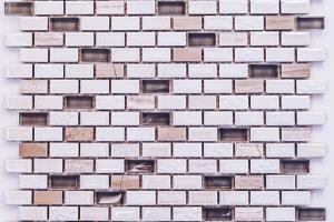 Мозаика из керамики Ideal (на сетке) 12*25*8 (306*269) M9