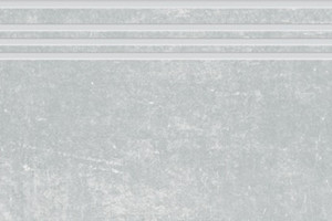 Цемент ступень светло-серый структурный 1200х300 SR380