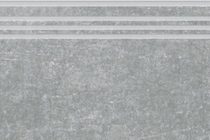 Цемент ступень серый структурный 1200х300 SR381
