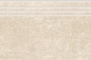 Цемент ступень бежевый структурный 1200х300 SR382