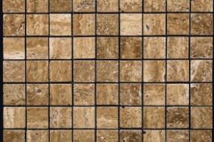 Мозаика из травертина 32*32*7 (300*300) MZ004