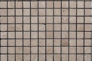 Мозаика из травертина 23*23*7 (300*300) MZ001