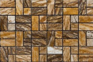 Мозаика из травертина   23*23*23*48 (300*300) MZ060