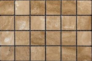 Мозаика из травертина 48*48*7 (300*300) MZ005