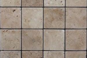 Мозаика из травертина 73*73*7 (300*300) MZ040