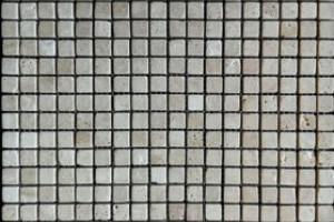 Мозаика из травертина 15*15*7 (300*300) MZ094
