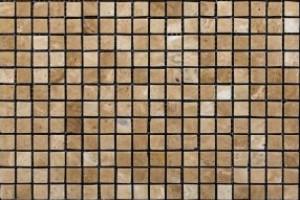 Мозаика из травертина 15*15*7 (300*300) MZ056