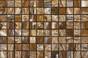 Мозаика из травертина 23*23*7 (300*300) MZ010