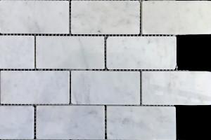 Мозаика из мрамора  48*96*7 (300*300)  MZ098
