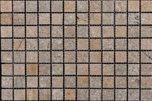 Мозаика из мрамора 23*23*7 (300*300)  MZ023