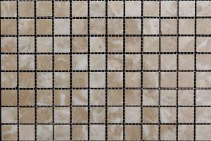 Мозаика из мрамора 23*23*7 (300*300) MZ106