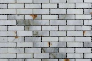 Мозаика из мрамора 15*48*7 (300*300) MZ074