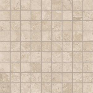 Сиена белый вставка мозаика  300х300 С579