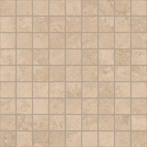 Сиена бежевый вставка мозаика  300х300 С580