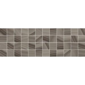 Agat декор мозаичный кофейный 600x200 MM60084