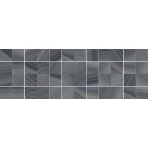 Agat декор мозаичный серый 600x200  MM60085