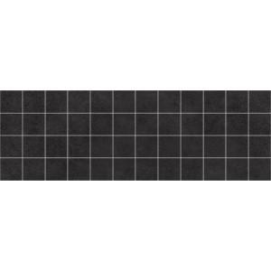 Alabama декор мозаичный чёрный 600x200 MM60062