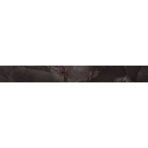 S.O. Black Agate Listello Lappato 73x590 610090001236