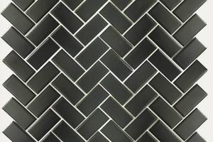 Мозаика черная 283*283*6 2348TN209M