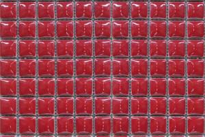 Мозаика красная 300*300*9 25TG-35