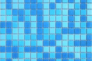 Мозаика голубая 327*327*4 MC107