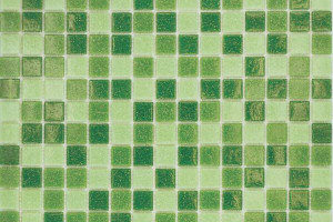 Мозаика зеленый микс 327*327*4 MC109