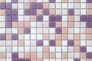 Мозаика бело-персиковый 327*327*4 MCD001