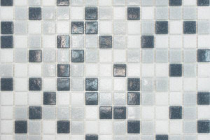 Мозаика серый микс 327*327*4 MDA233