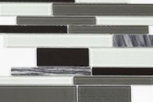 Мозаика шахматный Crystal+Stone 286*298*4 N25