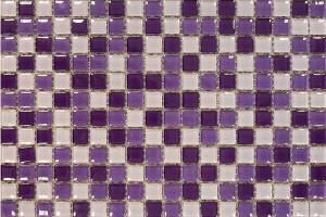 Мозаика лиловый микс 305*305*4 SH-415004